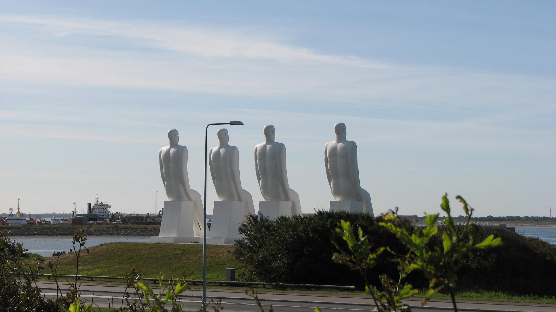Hafeneinfahrt Esbjerg